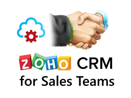 Zoho CRM for Sales Team Logo